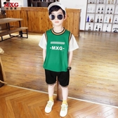 兒童套裝童裝男童夏裝2020新款潮洋氣韓版兩件套中大童衣服 FX5428 【MG大尺碼】