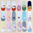 韓國襪子 三麗鷗家族 矽膠防滑隱形襪 H...
