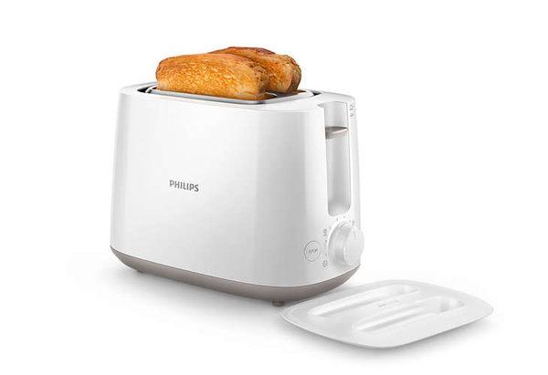 飛利浦PHILIPS Daily Collection 烤麵包機 (白色) HD2582 ✬ 新家電生活館 ✬免運費
