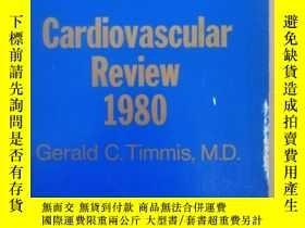二手書博民逛書店Cardiovascular罕見Review 1980Y1804