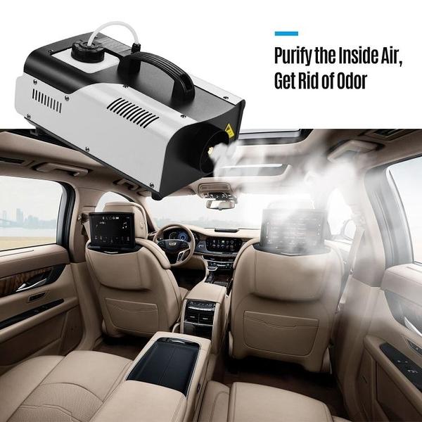 110V現貨 新款金剛衛士恒溫持續900瓦汽車空調除異味 舞台煙機 1500W噴霧機 快速出貨