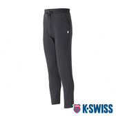 【超取】K-SWISS Basic Straight Pants 運動長褲-男-黑