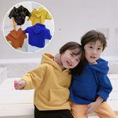 雙層搖粒絨連帽衛衣 長袖上衣 橘魔法 magic baby 現貨 童裝 兒童 男童 女童 中童