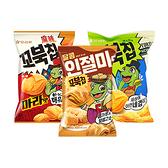 韓國 Orion 好麗友 烏龜玉米脆片 80g 原味/麻辣/烤麻糬【BG Shop】