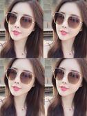 太陽鏡女2019時尚新款偏光網紅街拍圓臉防紫外線墨鏡大臉韓版gm潮