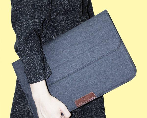X-Bag專業防電磁波電腦包(深灰色)of 12吋 MacBook