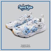 REEBOK 復古慢跑鞋 Furylite 白藍 花朵 扶桑花 女 BD1098【SP】