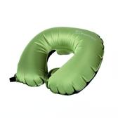 【速捷戶外】100MOUNTAIN 輕量吹氣U型枕頭 輕量極限60g