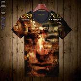 新品夢劇院搖滾樂隊T恤大碼短袖 青少年上衣 個性新潮全印花