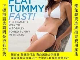 二手書博民逛書店Clean罕見& Lean Diet Flat Tummy Fa