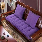 坐墊防滑加厚紅木沙發墊飄窗墊子中式沙發墊【潮咖地帶】