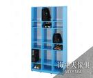 {{ 海中天休閒傢俱廣場 }} G-34 環保塑鋼 鞋櫃系列 056-05 開方式鞋櫃(9格/四色可選)