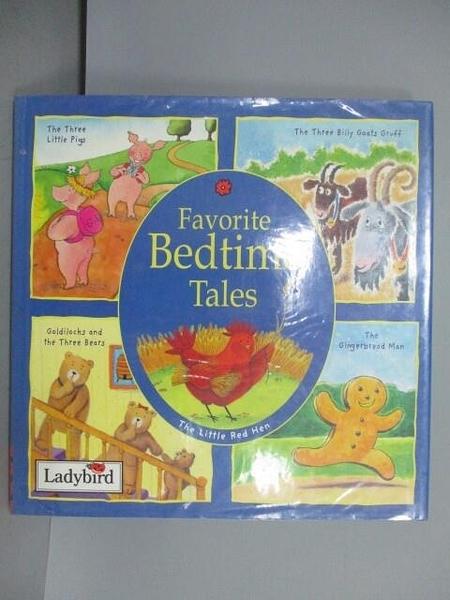 【書寶二手書T6/兒童文學_QCR】Favorite Bedtime Tales