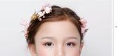 女孩頭飾韓式手工蝴蝶結粉色花朵發夾女童飾品六一兒童發夾發飾 居享優品