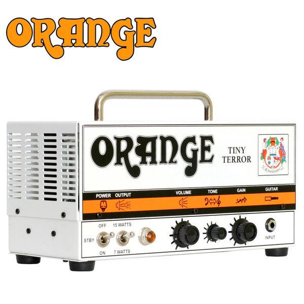 小叮噹的店-英國ORANGE Tiny Terror 真空管電吉他音箱頭 D-TT 15W G擴大機 公司貨