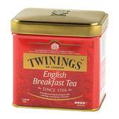 【Twinings唐寧茶】英倫早餐茶(100g) X1入