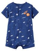 【美國Carter's】短袖純棉連身衣 - 宇宙探險家 #118H070