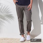 【JEEP】美式經典戶外休閒長褲 (淺軍綠色)