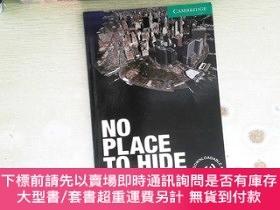 二手書博民逛書店No罕見Place to Hide Level 3 Lower-intermediateY253683 Ala