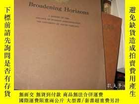 二手書博民逛書店BROADENING罕見HORIZONSY9837 AHISTO