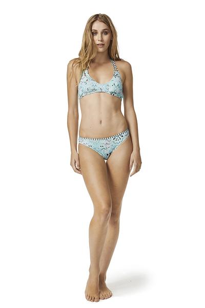 Piha 知名進口泳裝品牌 GATHERED BRAIZLIAN PANT比基尼褲-藍(女)