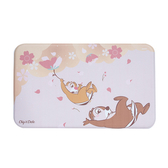 HOLA 迪士尼系列櫻花季釋壓廚房踏墊45x75cm-奇奇蒂蒂