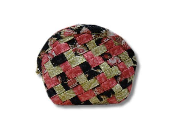 手工拼布包-織夢-零錢包--樣樣精品 都是唯一