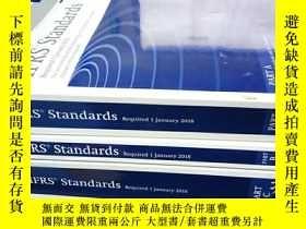 二手書博民逛書店IFRS罕見Standards (Blue Book): 201