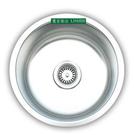 【麗室衛浴】圓形不銹鋼洗水槽 FW043A 425X425X180H