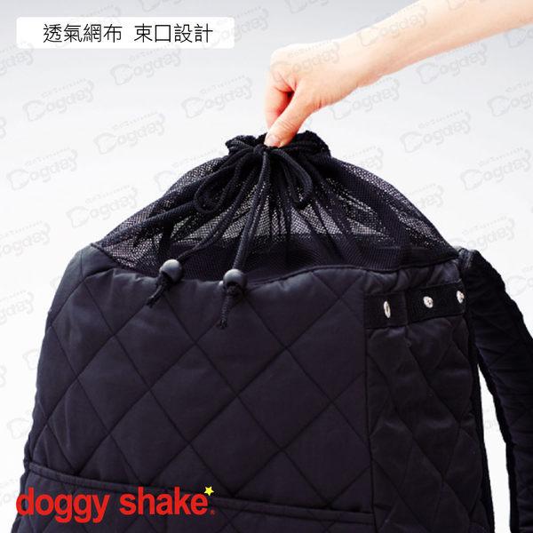 狗日子日本《Doggy Shake》DS袋鼠包 網袋包 前背包