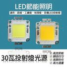 集成光光源 cob光源 LED30瓦 投射燈 30W 芯片 DIY換光源 led光源 5入一組 單片特價$104