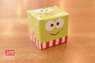 KeroKeroKeroppi 大眼蛙 造型盒裝便利貼 綠 870801