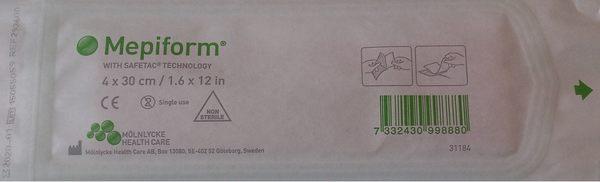 [微友] Mepiform 美林克疤痕護理矽膠片(未滅菌) 4*30cm 293600 美皮豐