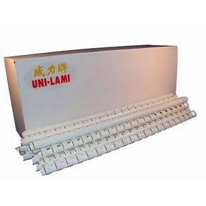 【UNI LAMI 威力牌】裝訂膠圈 膠環 10MM 白色 100支/盒