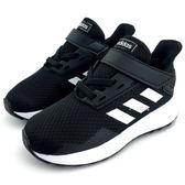 《7+1童鞋》ADIDAS  DURAMO 91  魔鬼氈  運動鞋  7322 黑色