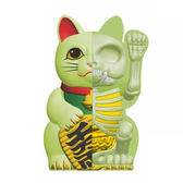 4D MASTER Fortune Cat 解剖公仔 招財貓 夜光色 【鯊玩具Toy Shark】