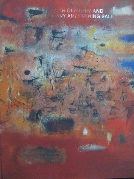【書寶二手書T8/收藏_XCN】Asian 20th Century…Art Evening Sale_2015/11/