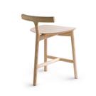義大利 Mattiazzi MC7 Radice Wooden Chair T 字 木質 單椅(紅色梣木)