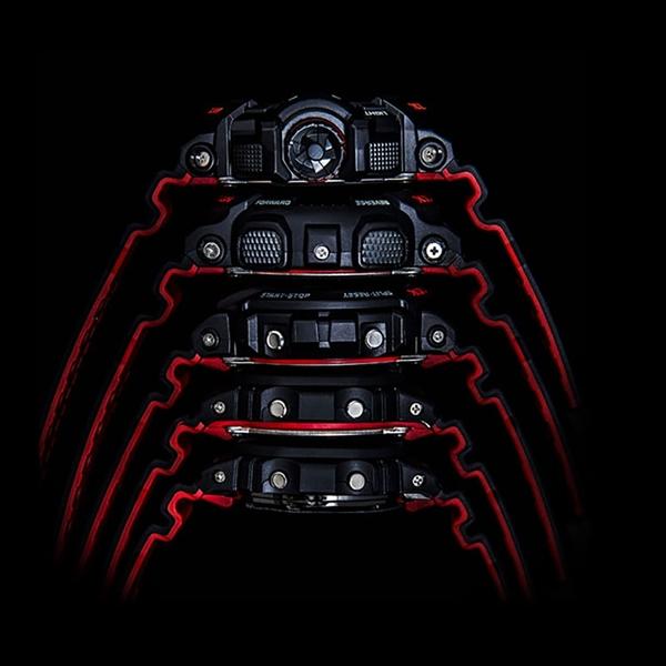CASIO 卡西歐 G-SHOCK 經典人氣電子錶-紅黑 DW-5600HR-1 / DW-5600HR-1DR