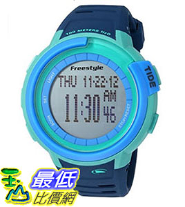 [106美國直購] Freestyle 手錶 Unisex 10022918 B00TYE8I5C Mariner Tide Digital Display Japanese Quartz Blue