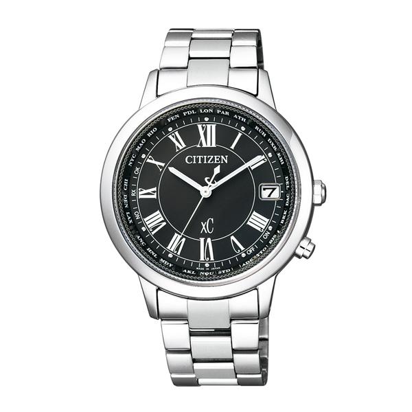 CITIZEN 星辰(CB1100-57E)xC 光動能防水 電波 鈦金屬 限量 女錶