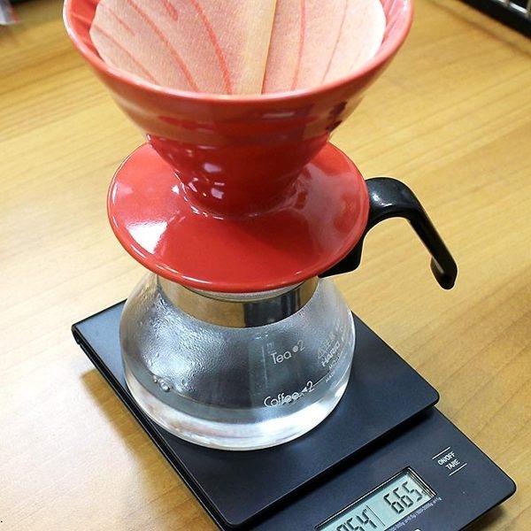 Hario 手沖咖啡電子秤(可計時的喔!) VST-2000B (非供交易使用)