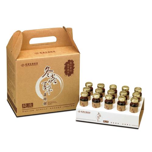 【長庚生技】冬蟲夏草菌絲體純液_家庭裝 x2盒(30瓶)
