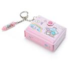 【震撼精品百貨】Little Twin Stars KiKi&LaLa_雙子星小天使~鑰匙圈-文具風#63624