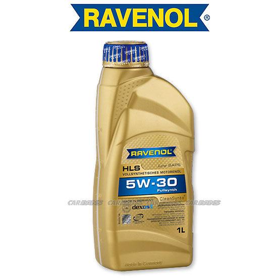 【愛車族】RAVENOL HLS 5W-30 全合成TDI (DPF) 長壽機油 汽柴油2用機油