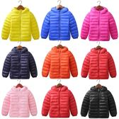 外套 兒童羽絨服輕薄款寶寶羽絨服男女童大中小童嬰兒連帽外套 87折促銷