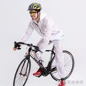 騎行雨衣自行車騎行服男套裝防風衣山地車騎行褲女公路車騎行裝備  快意購物網