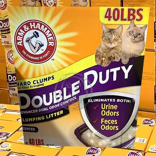 【培菓寵物48H出貨】鐵鎚牌鐵槌《凝結貓砂》雙效加強除臭配方40磅18.14公斤~免運送到家