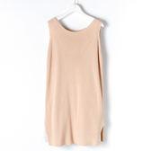 [titty&co]兩件式無袖造型洋裝(卡其)