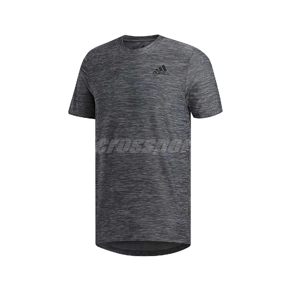 adidas 短袖T恤 All Set Tee 灰 黑 男款 短T 運動 訓練 【ACS】 FL8478